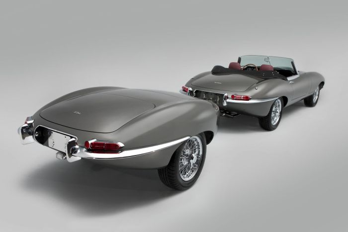 The world's first stretched Jaguar E-Type unveiled 01