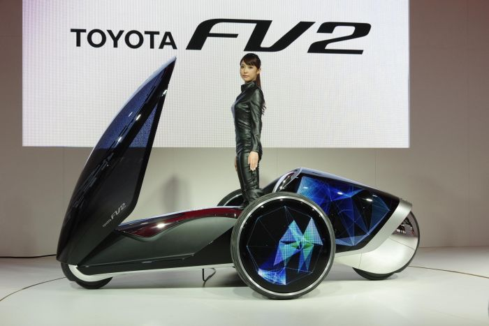 Toyota FV2 at the Tokyo Motor Show