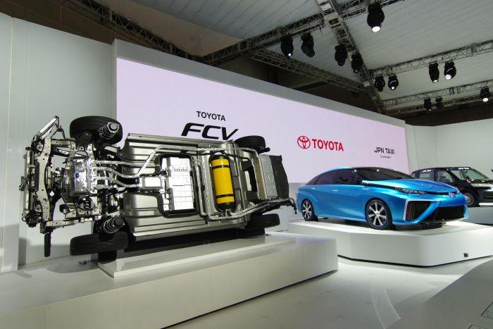 Toyota al Salone dell'Auto di Tokyo