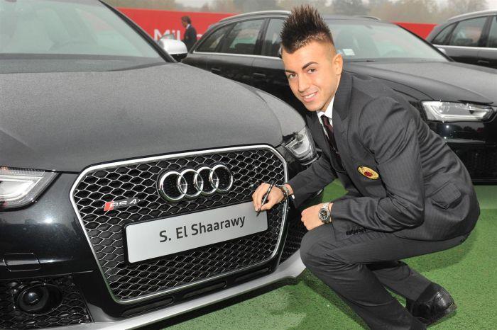 Tutte le Audi scelte dai calciatori del Milan per la stagione 2013 2014