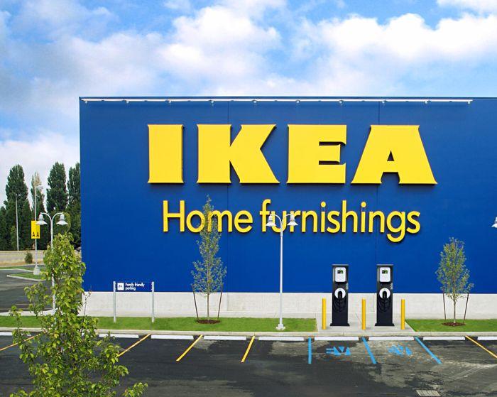 All'IKEA sarà possibile ricaricare l'auto elettrica