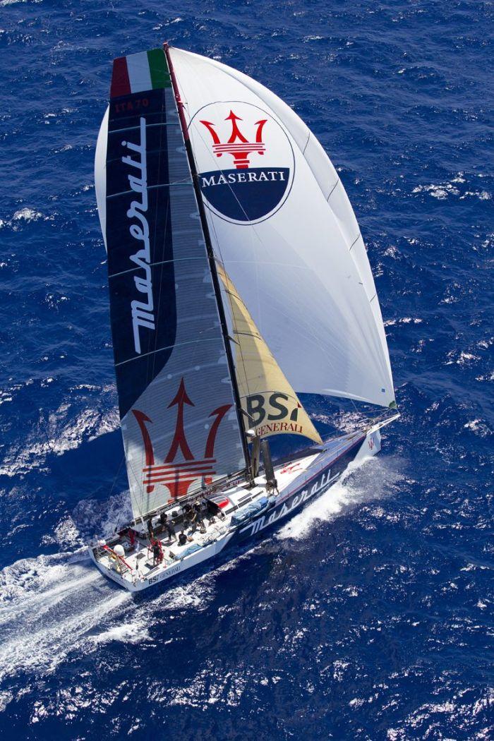 Il team di Maserati e Giovanni Soldini pronti per la Cape2Rio Yacht Race