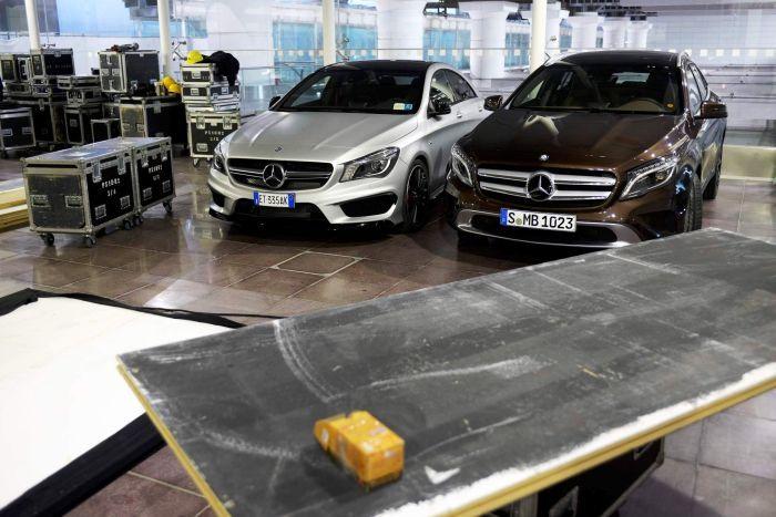 Mercedes-Benz GLA e CLA 45 AMG dinamismo e avanguardia di scena al MercedesBenzShow di Bologna