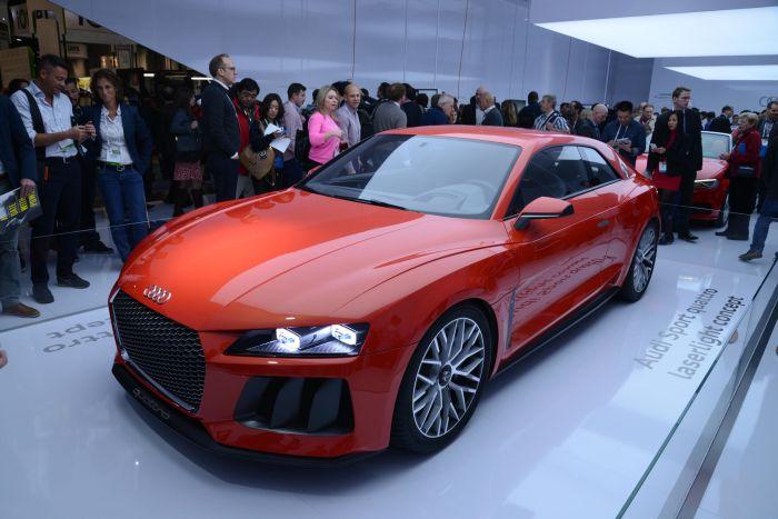 Audi Sport quattro laserlight concept: le immagini dal Consumer Electronics Show