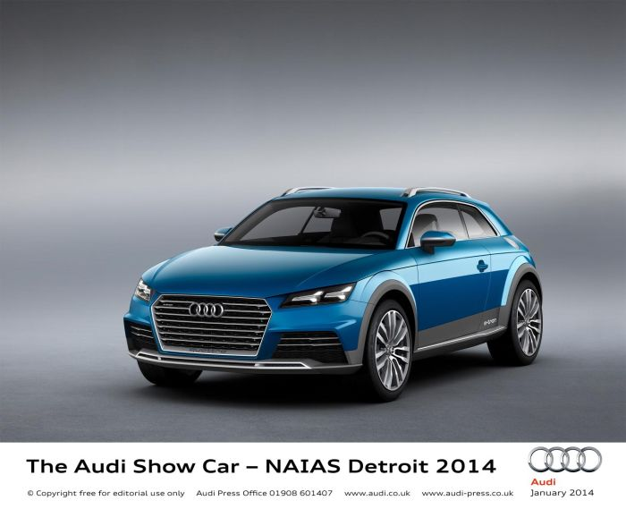 Detroit 2014: Audi Allroad Shooting Brake