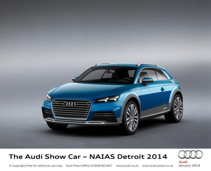 Detroit 2014: Audi Allroad Shooting Brake