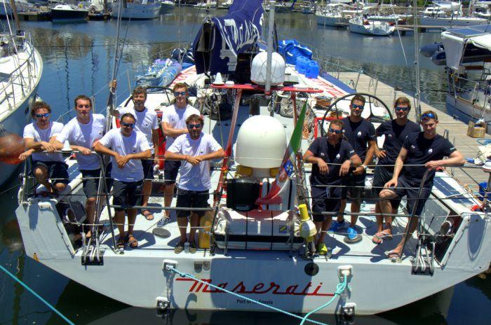 Il team di Maserati e Giovanni Soldini in partenza domani per la Cape2Rio Yacht Race