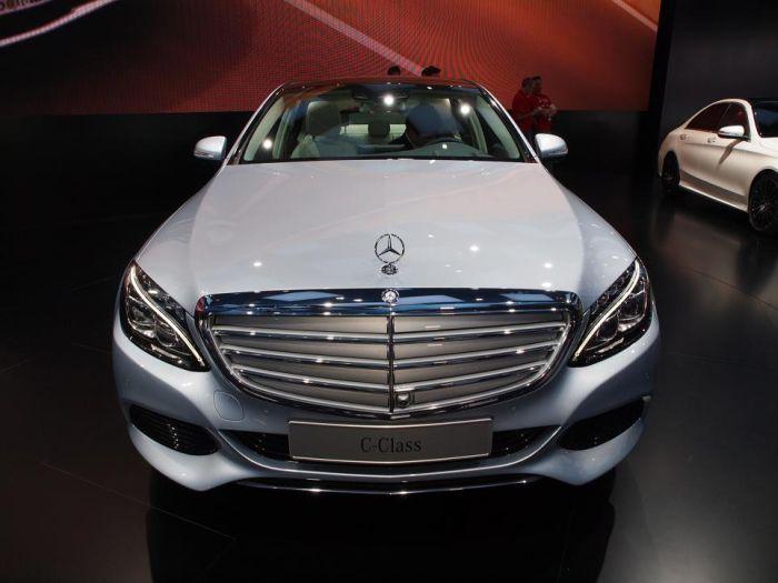 Nuova Mercedes-Benz Classe C: le foto dal Salone di Detroit 2014