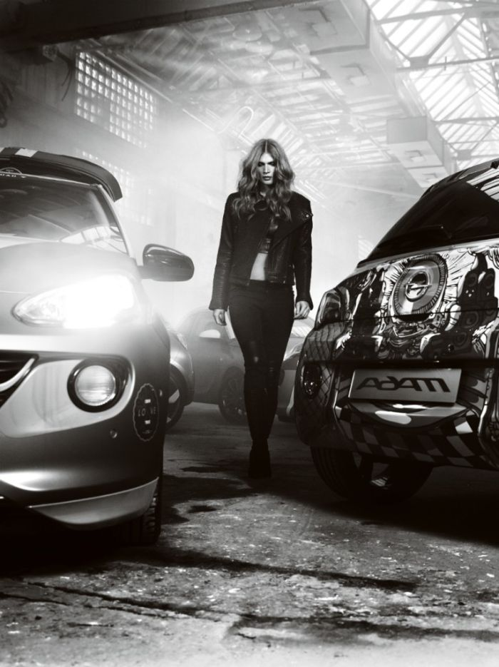 Opel Adam fotografata da Bryan Adams 06