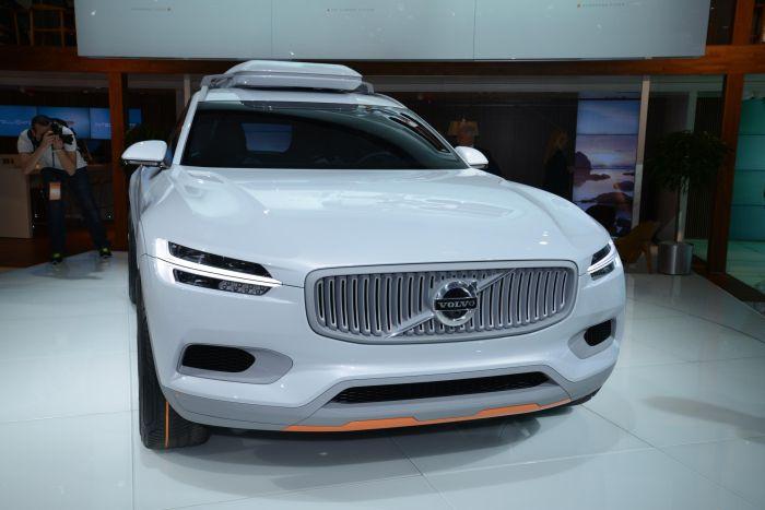 Volvo Concept XC Coupé: le foto live dal Salone dell'Auto di Detroit 2014