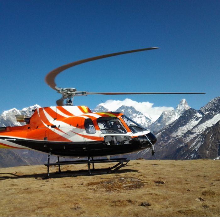 Consegnato il nuovo elicottero Airbus Helicopters AS350 B3e alla nepalese Shree Airlines