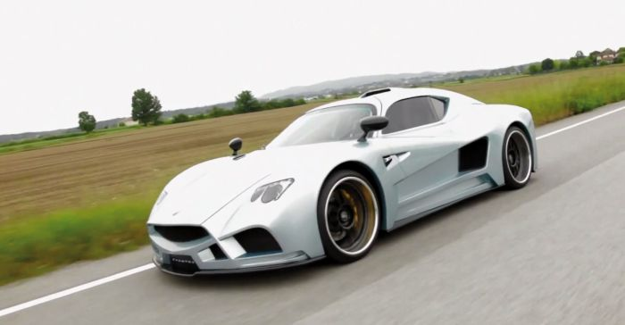 Il primo video ufficiale di Evantra, la supercar di Mazzanti Automobili, on air sui social