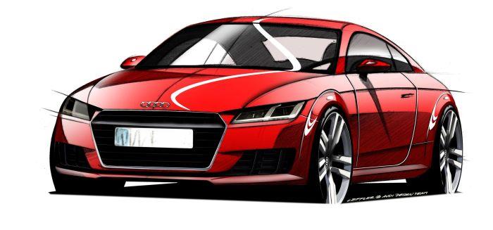 Nuova Audi TT: anteprima mondiale al Salone di Ginevra