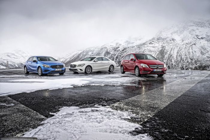 Nuove motorizzazioni per Classe A, B e CLA: consumi ed emissioni record