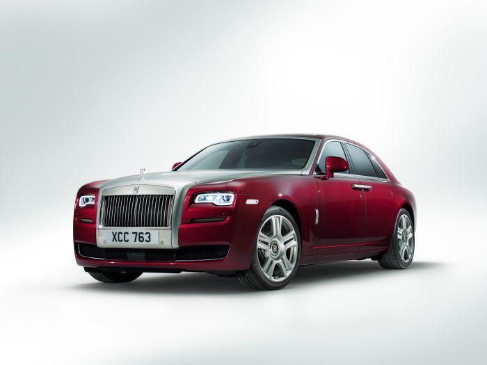 A Ginevra la nuova Rolls-Royce Ghost Serie II