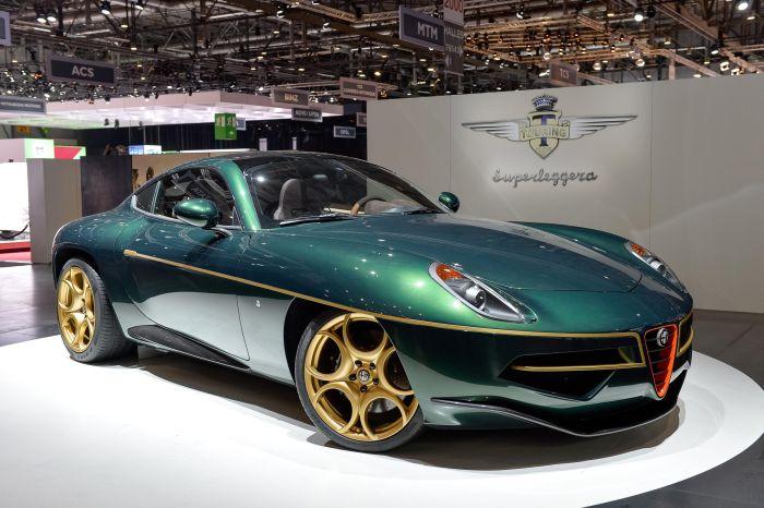 Alfa Romeo Touring Disco Volante a Ginevra 2014