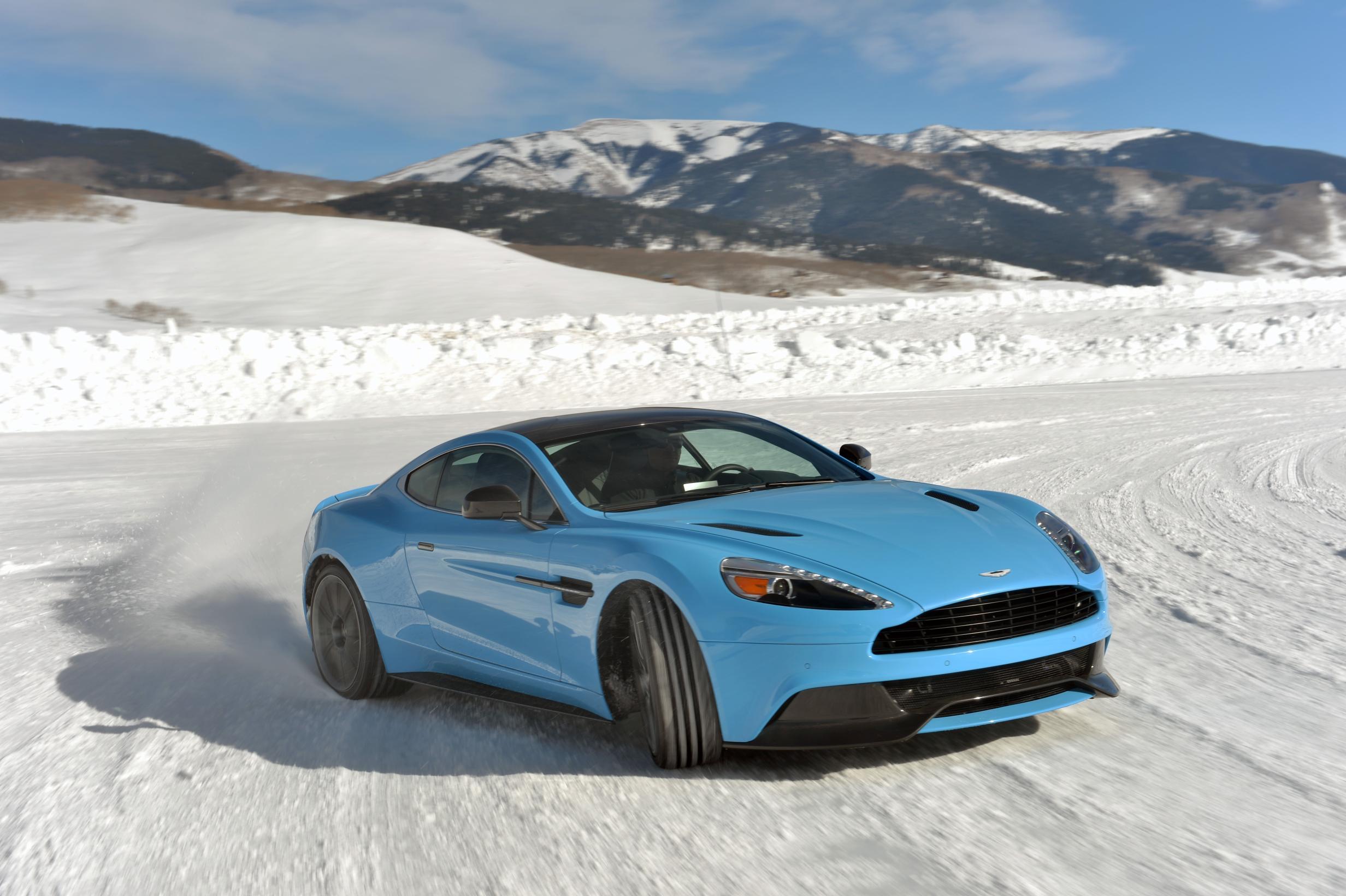 Aston Martin… on ice!