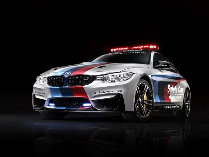 BMW M4 Coupé MotoGP Safety Car 2014