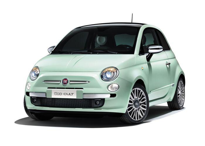 Fiat 500 Cult, la nuova versione top di gamma