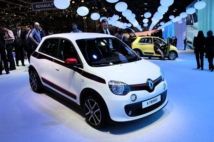 Renault Twingo: le immagini live dal Salone di Ginevra 2014