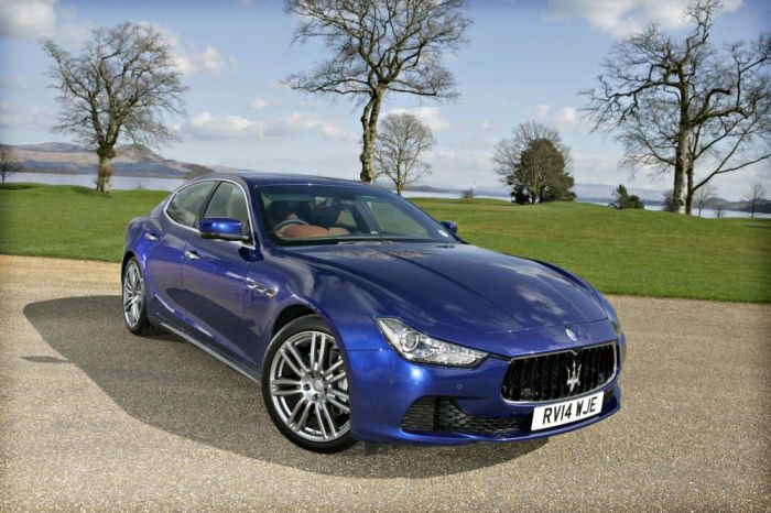 Park's Motor Group's new Maserati showroom in Hamilton, just south of Glasgow, is now officially open
