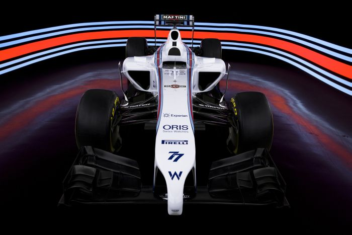 Williams Mercedes FW36 Martini Racing 1