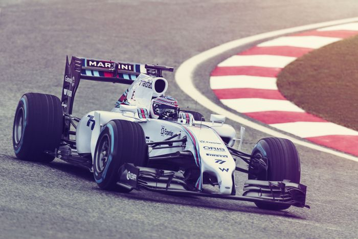 Williams Mercedes FW36 Martini Racing 2
