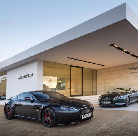Aston Martin Works celebrates a record performance in March