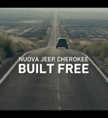 BUILT FREE on air lo spot della nuova Jeep Cherokee 1
