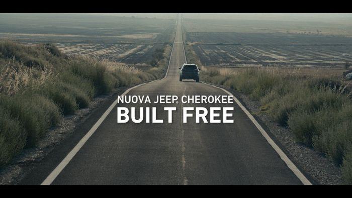 """""""BUILT FREE""""': on air lo spot della nuova Jeep Cherokee"""