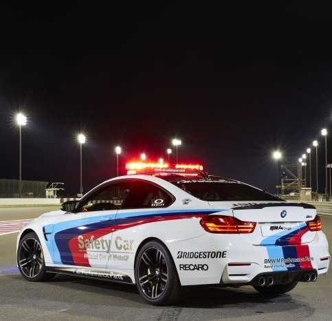 Bridgestone per le safety car BMW di MotoGP_Qatar Rear_1
