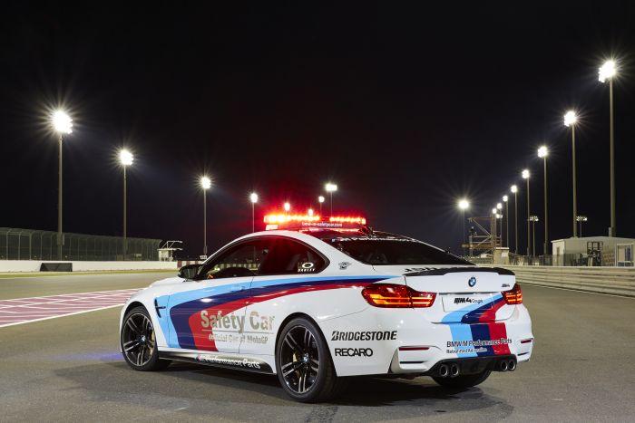 Bridgestone è il fornitore ufficiale per le safety car BMW della stagione 2014 di MotoGP