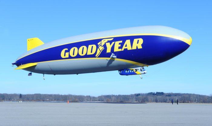 """Goodyear: concorso """"Name The Blimp"""" per votare il nome del nuovo Dirigibile"""