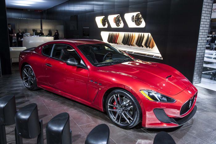 Maserati GranTurismo MC e GranCabrio MC Centennial Edition protagoniste a New York