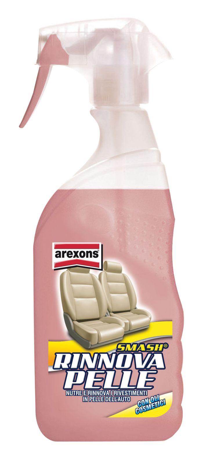 Linea Car Care Arexons: Smash Rinnova Pelle, come usarlo (video).