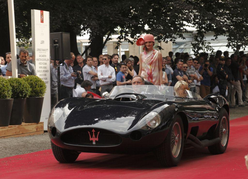 Concorso d'Eleganza di Villa d'Este 2014: apoteosi Maserati