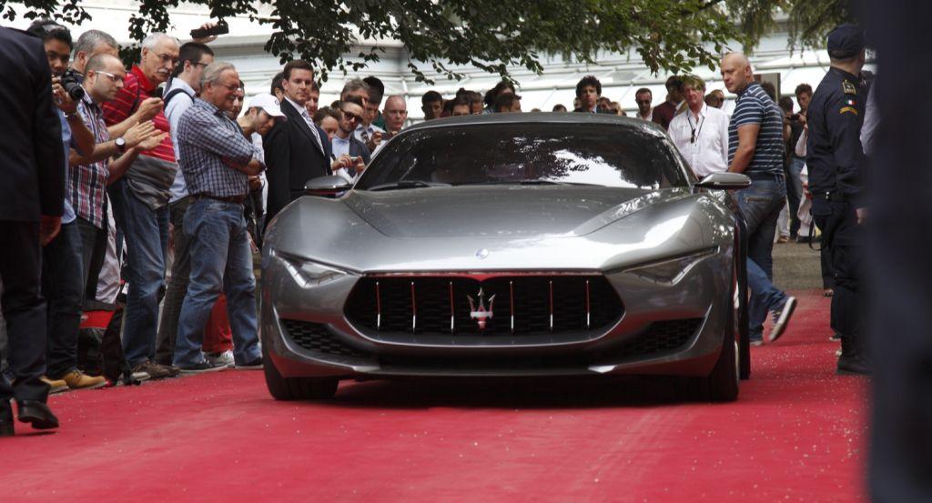Concorso d'Eleganza di Villa d'Este 2014 apoteosi Maserati 2