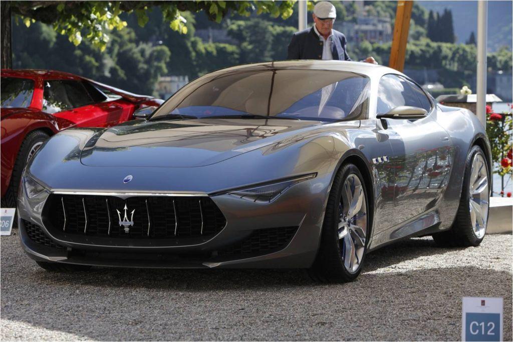 Concorso d'Eleganza di Villa d'Este 2014 apoteosi Maserati 7