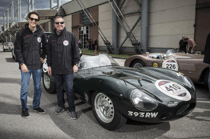 Jaguar drivers at Mille Miglia 2014 01