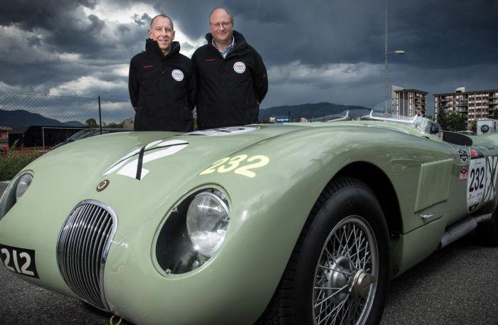 Jaguar drivers at Mille Miglia 2014 02