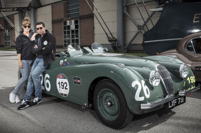 Jaguar drivers at Mille Miglia 2014 05