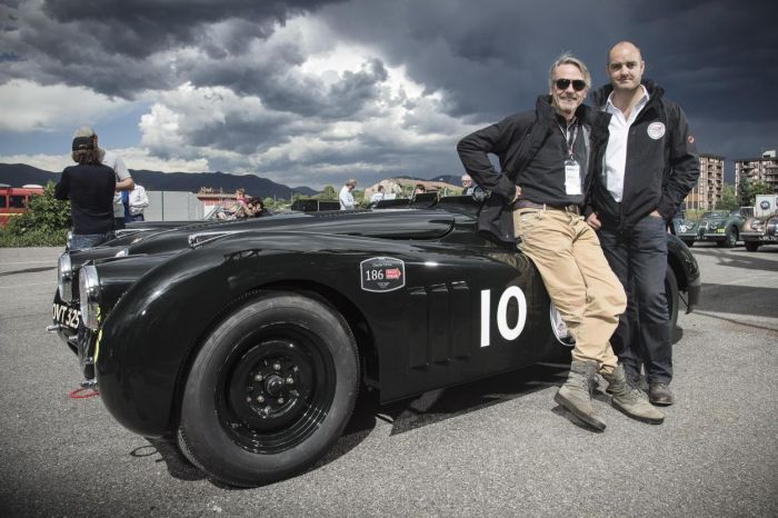 Jaguar drivers at Mille Miglia 2014 06