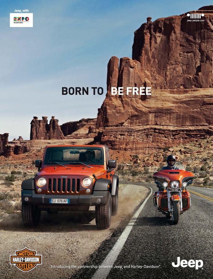 Jeep insieme ad Harley-Davidson nella regione EMEA per il 2014