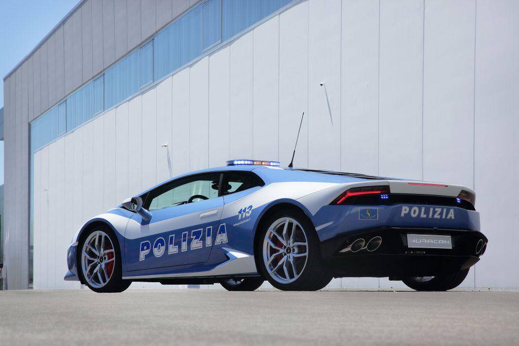 La nuova Lamborghini Huracán LP610-4 della Polizia