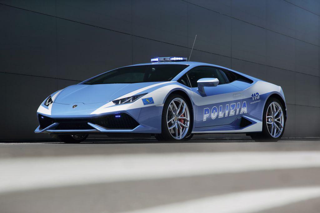La nuova Lamborghini Huracán LP610-4 della Polizia 1