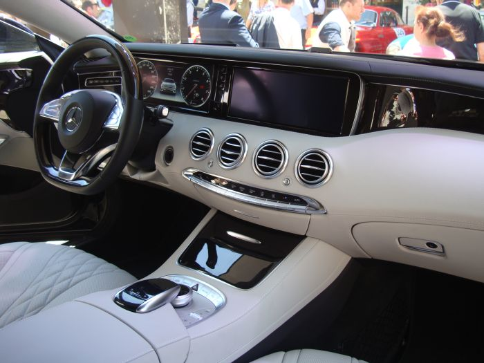 Mercedes-Benz Classe S Coupé, anteprima italiana 10