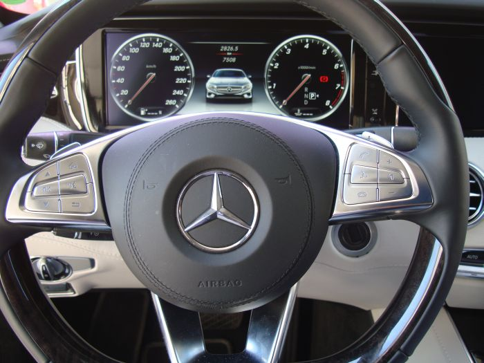 Mercedes-Benz Classe S Coupé, anteprima italiana 11