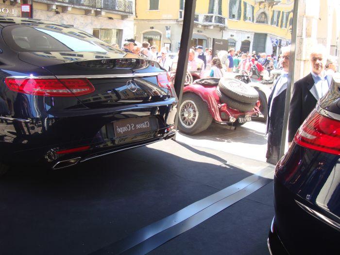 Mercedes-Benz Classe S Coupé, anteprima italiana 12