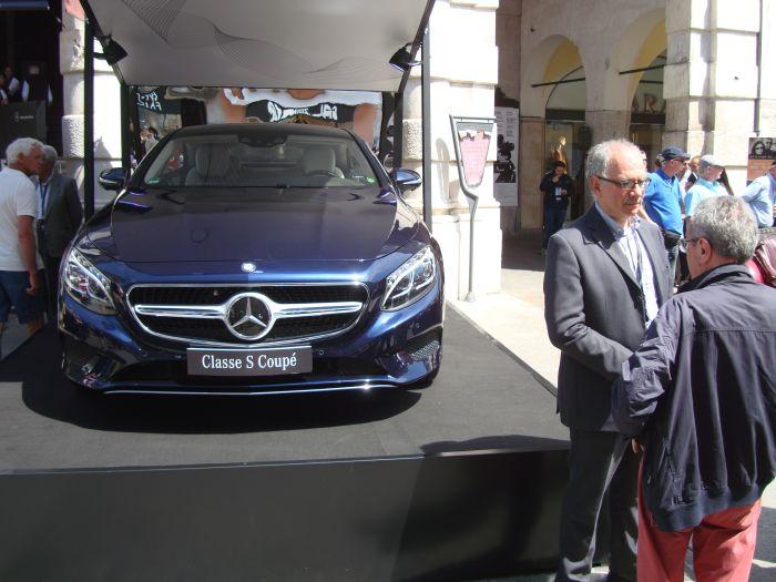 Mercedes-Benz Classe S Coupé, anteprima italiana 4