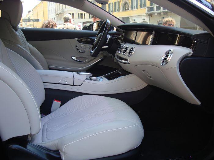 Mercedes-Benz Classe S Coupé, anteprima italiana 8